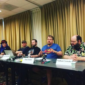 Panelists for The GameMaster's Manifesto Podcast – GMing From The Hip
